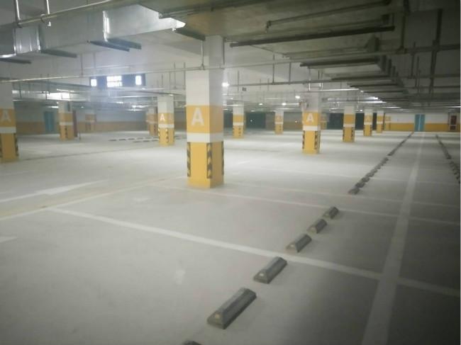 银川市第二十中地下停车场